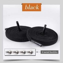 Negru - Sireturi elastice...